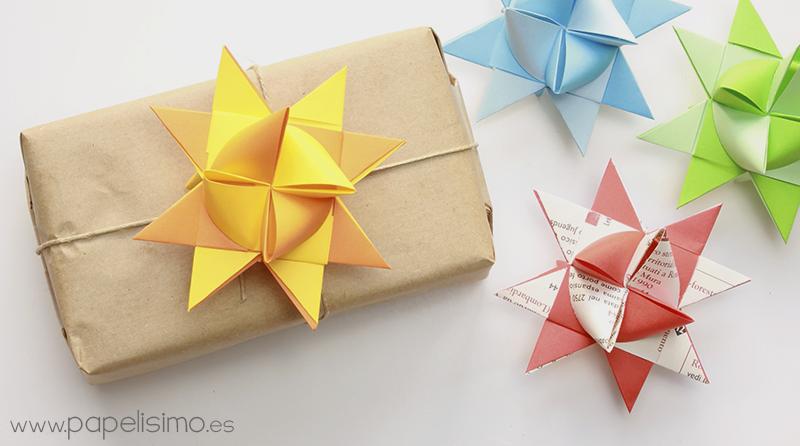 envolver regalos con origami