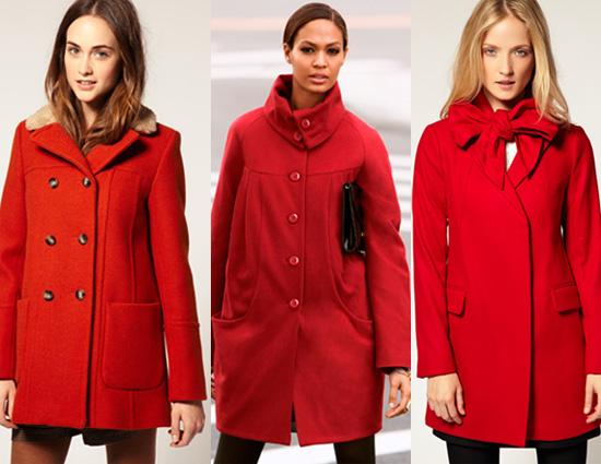 kırmızı kaban modelleri
