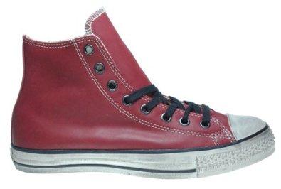 261ab7263047 Low cost Converse Chuck Taylor John Varvatos Hi Top Ruby Wine Shoes ...