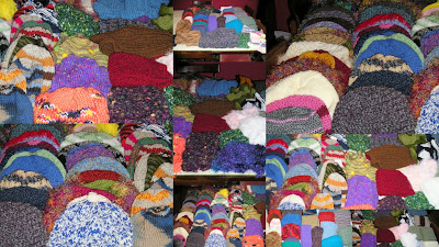 Hats & Scarves for Room in the Inn
