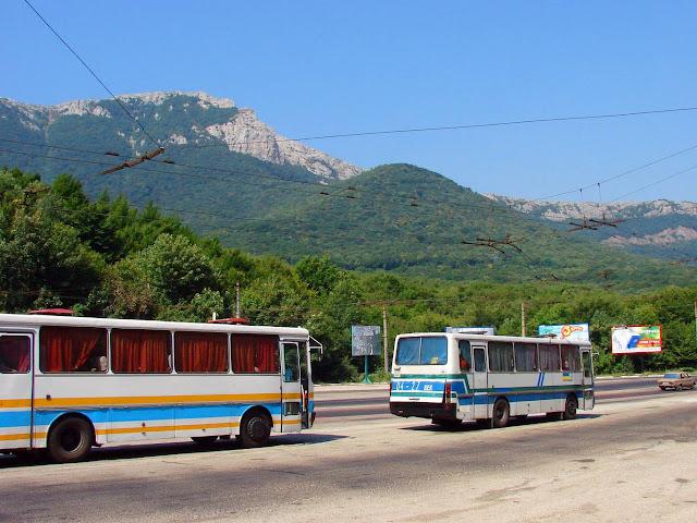 Куда лучше ехать в Алуште - Трасса Симферополь-Алушта