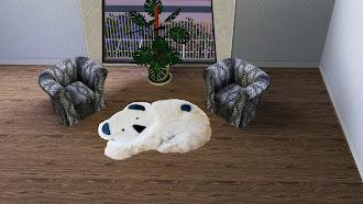 Меховые коврики