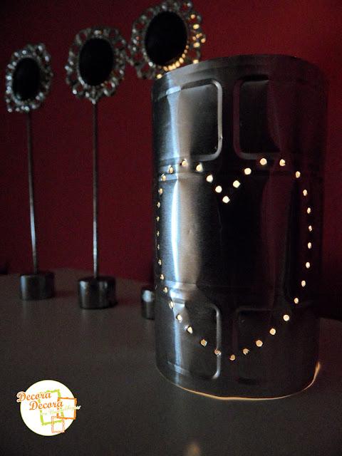 Hacer lamparas decorativas para San Valentín.