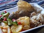 И снова бедуинская еда: очень просто и очень вкусно