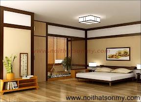 Thiết kế phòng ngủ có ván sàn