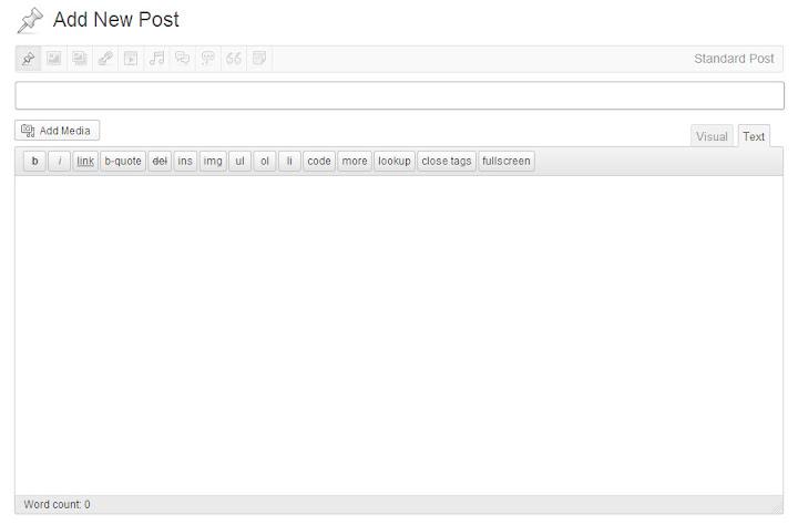 Trải nghiệm Wordpress 3.6 trước giờ ra mắt - Ảnh 5
