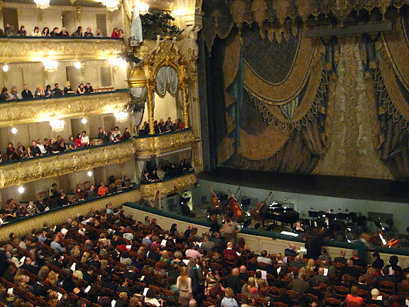 Мариинский театр. как выбрать место, с которого хорошо видно.