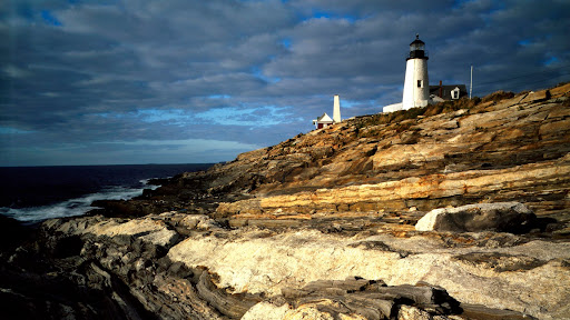Sunrise light on Pemaquid Lighthouse, New Harbor, Maine.jpg