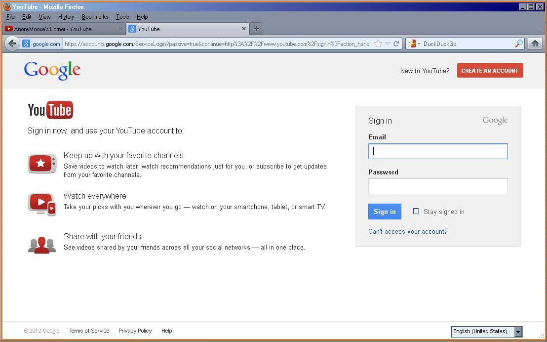 Re: How to recover my youtube account then? - YouTube Help