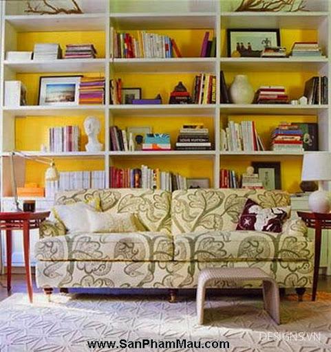 Các mẫu thiết kế nội thất phòng đọc sách P1-5