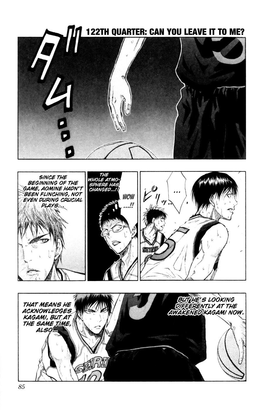 Kuroko no Basket Manga Chapter 122 - Image 01
