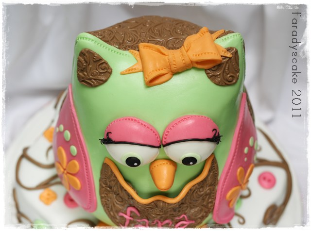 Owl Cake Decorating Kit