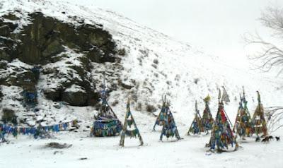Горнолыжный курорт в Улан-баторе, Монголия