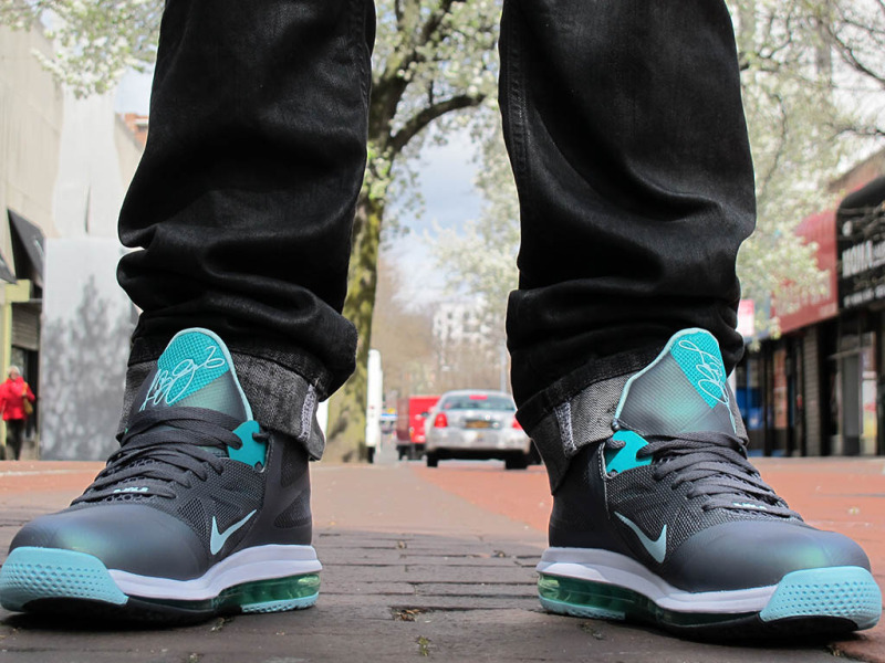 competitive price bd642 638be Release Reminder Nike LeBron 9 Low Easter On Feet Pics ...