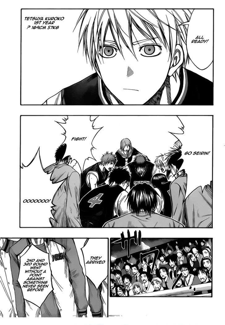 Kuroko no Basket Manga Chapter 145 - Image 09
