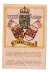 Ansichtkaart ter herinnering aan de bevrijding van Enschede op 1 april 1945.