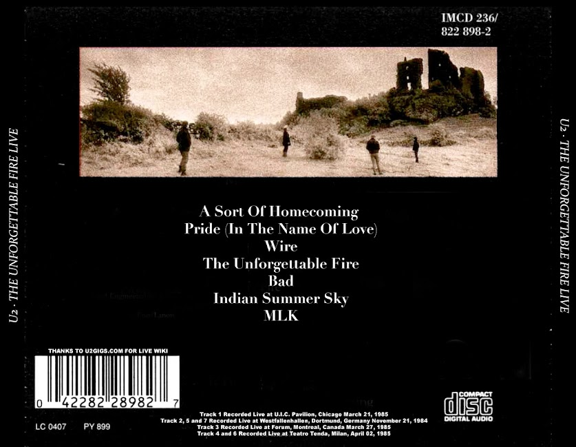 Guitars101 - Guitar Forums - View Single Post - U2 - A Live