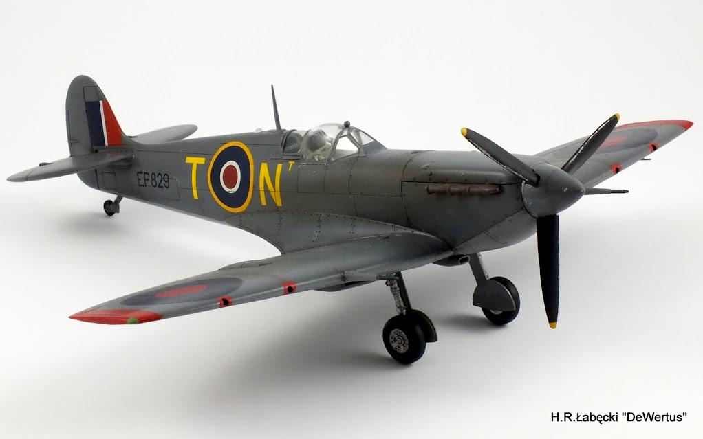 Malta 1940-43, Spitfire Mk.Vb, 249 Sqn RAF, Tamiya 1/48 DSCF4170