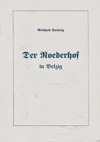 Gerhard Dorbritz: Der Roederhof