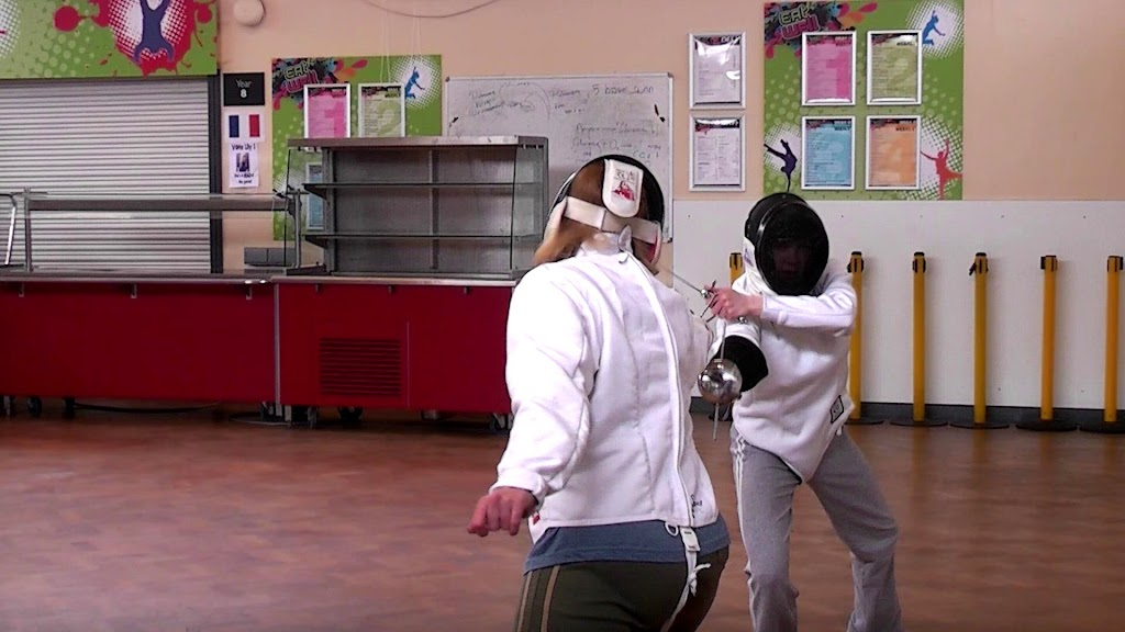 Rapier Fencing - Vicki and Lisa