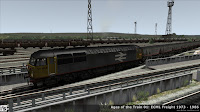 Fastline Simulation - Ages of the Train 01: ECML Freight 1973 - 1986: 7L06 1356 Tyne Yard - York Up Arrivials.