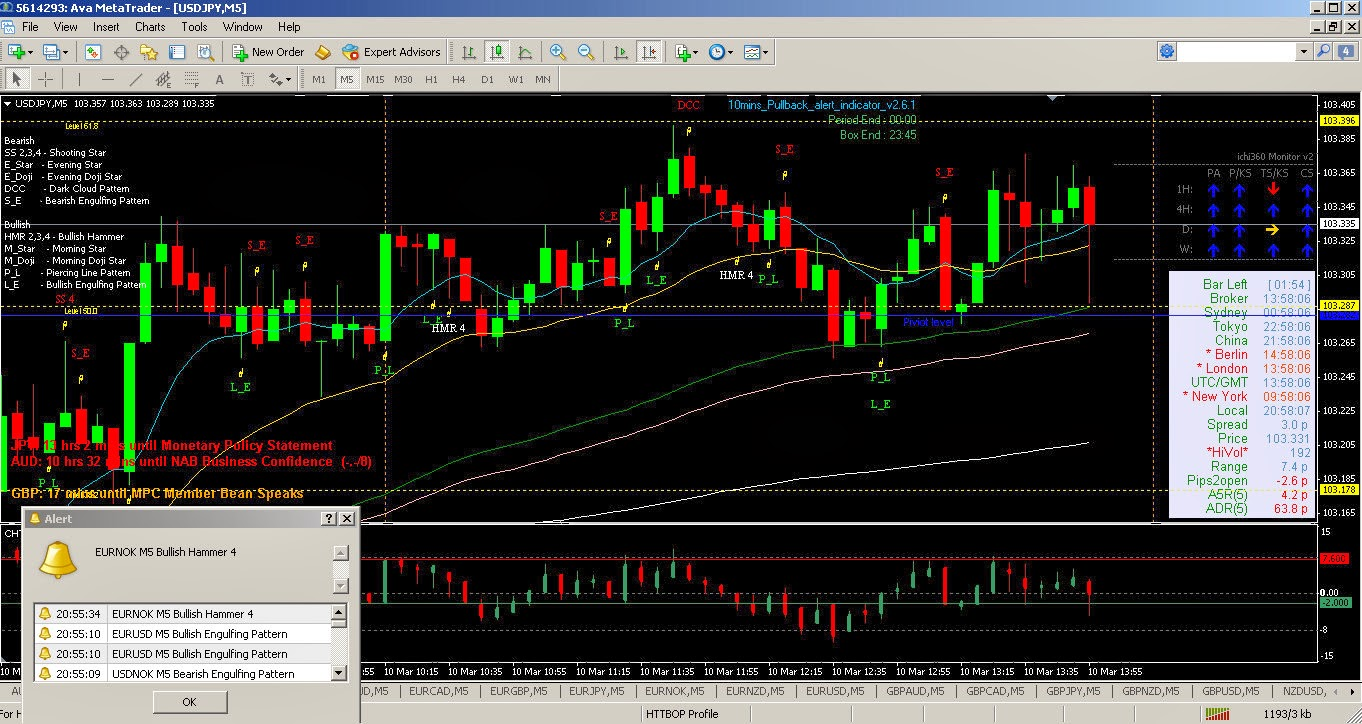 Binary option system