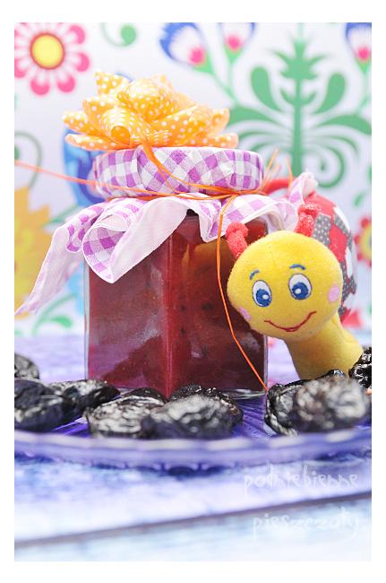 Domowe słoiczki - truskawka bez cukru, ze śliwkami