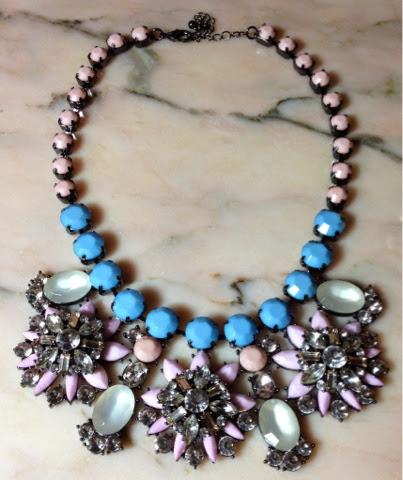 Warehouse Pastel Floral Necklace