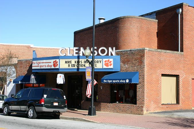 Mintaka's Historic Clemson Photos Photos - Clemson Theater, Downtown Clemson, Mintaka