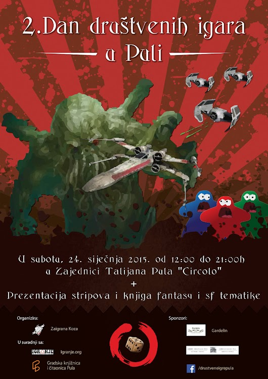 Pula: 2. Dan društvenih igara
