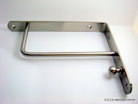 裝潢五金 型號:JB051-高級三角架 規格:25CM 顏色:霧銀 玖品五金