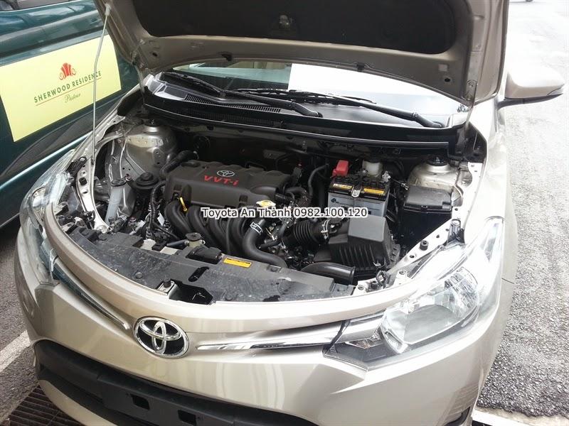 Khuyến Mãi Giá Bán Xe Ôtô Toyota Vios 2015 Mới 2