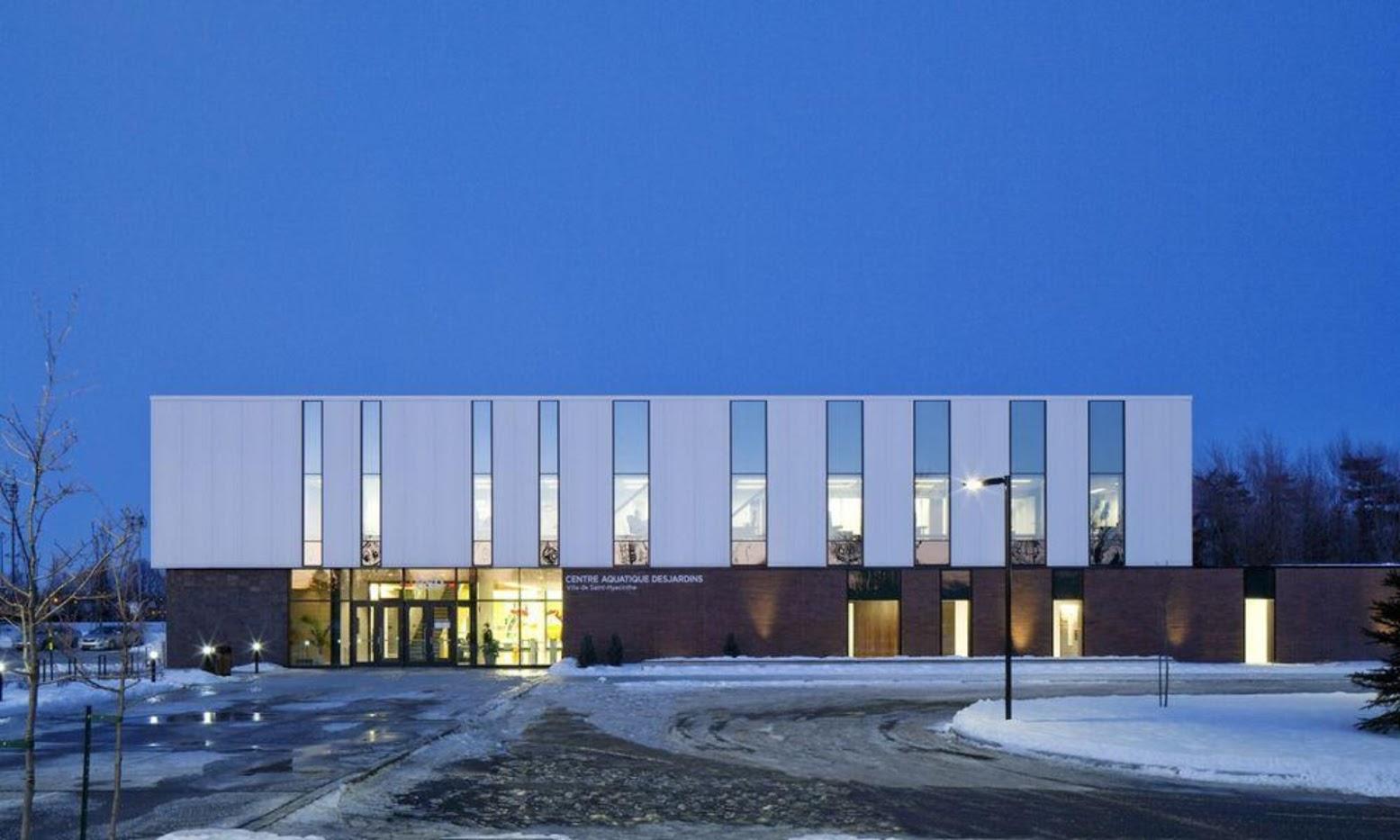 Atelier D Architecture Alexandre Dreyssé unusual architecture: sport center
