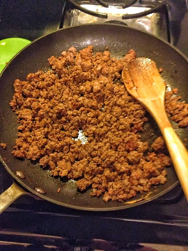 Ground turkey for enchiladas