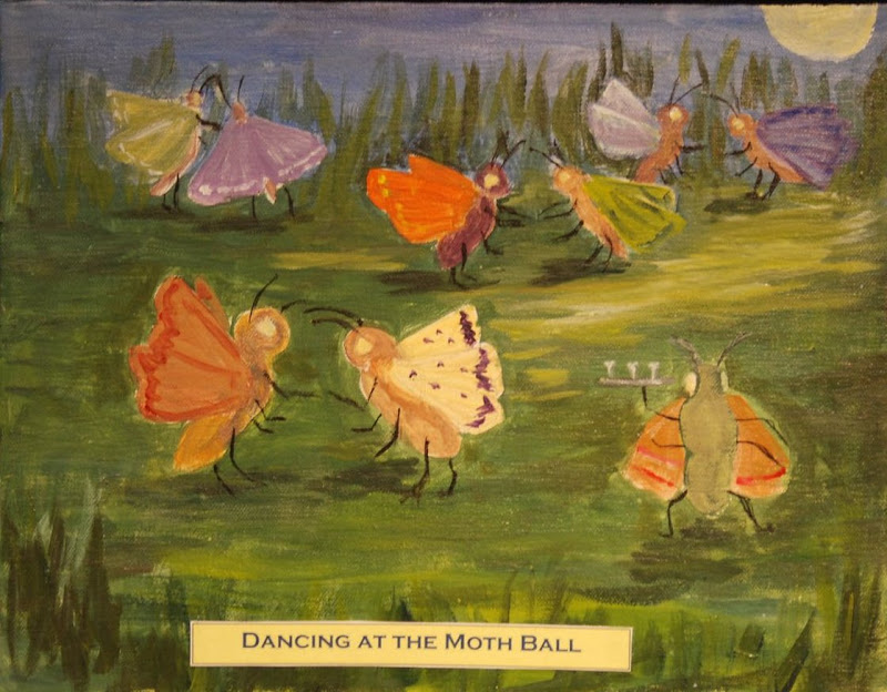 Dancing at the Moth Ball by Penny Markley
