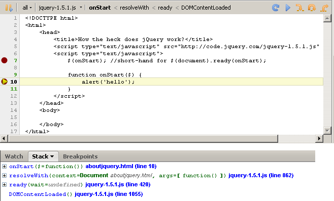 One Fork: How jQuery ready works