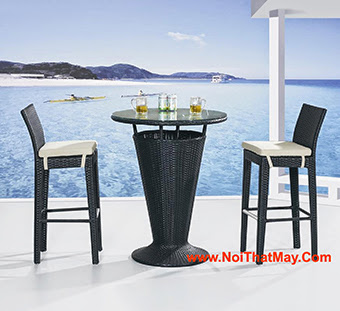 Outdoor Wicker Bar Set Minh Thy 812