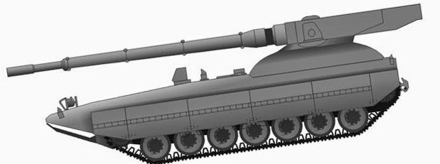Проект перспективного танка