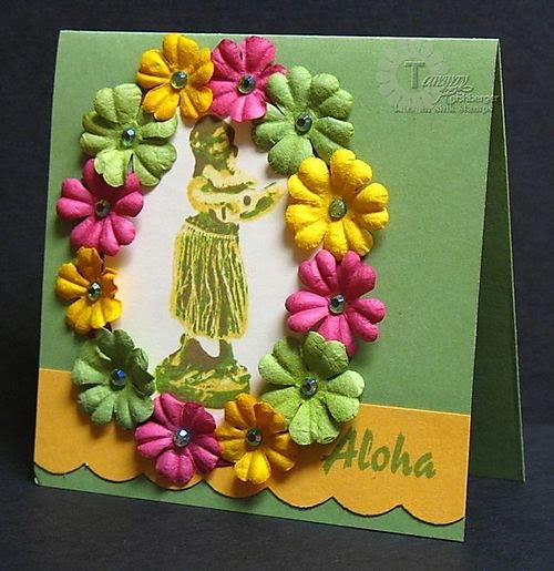 Invitación para fiesta hawaiana