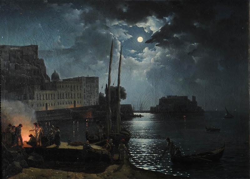 "Щедрин Сильвестр Феодосиевич (1791-1830). ""Лунная ночь в Неаполе"