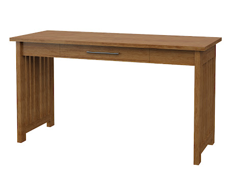 Syracuse Writing Desk in Como Maple