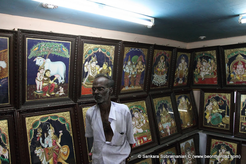 This guy made all these beautiful Tanjore paintings