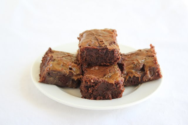 sweet and salty brownies