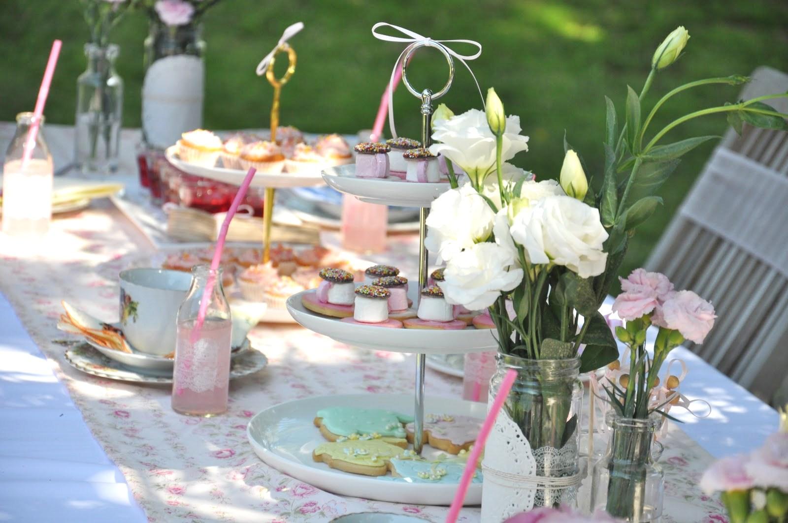 Tips para hacer un tea party - Como decorar una mesa para una fiesta ...