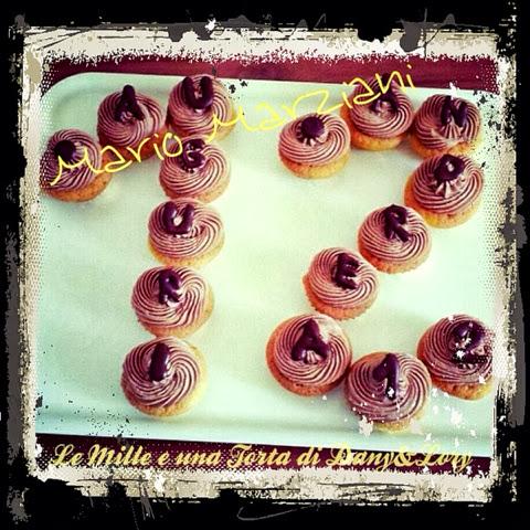 cupcakes alla vaniglia con frosting nutella e mascarpone