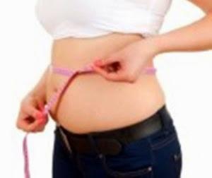 Medida de cintura arriba del ombligo