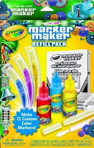 Hộp sản phẩm Bộ 3 màu mực cho bút lông xanh, vàng, đỏ Mã 7470550000