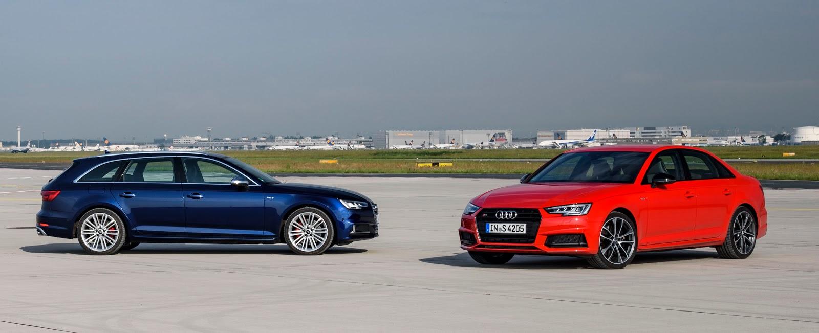 Audi S4 2017 có hai phiên bản là sedan và hatchback (avant)