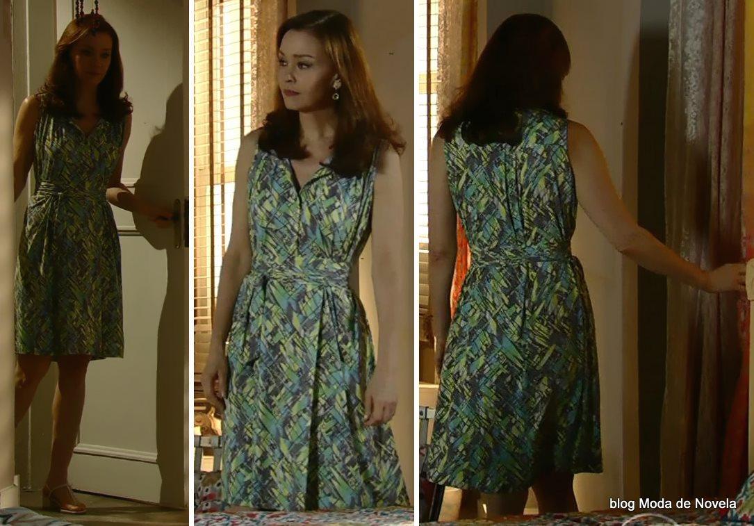 moda da novela Em Família - look da Helena dia 2 de julho