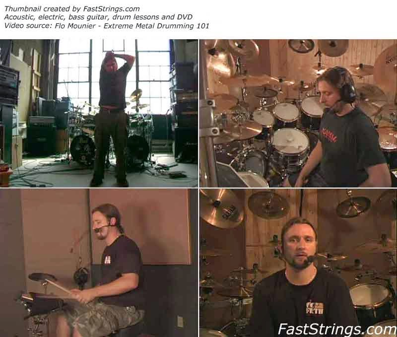 Flo Mounier - Extreme Metal Drumming 101